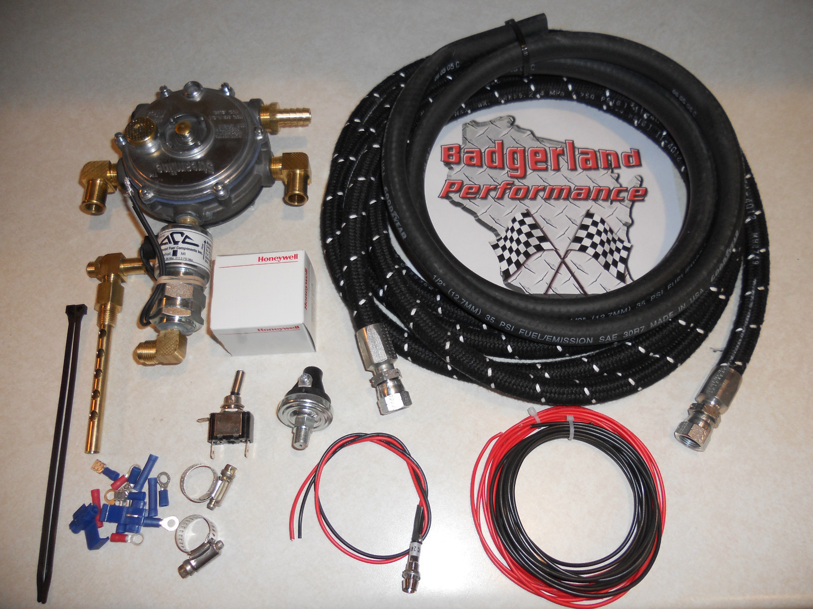 Example of our Pick-up Truck Kit with high pressure hose.